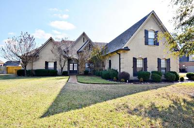 Olive Branch Single Family Home For Sale: 4196 Three Hawks Drive