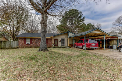 Horn Lake Single Family Home For Sale: 5665 Chickasaw Drive