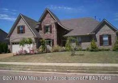 Olive Branch Single Family Home For Sale: 6030 Vera Lane