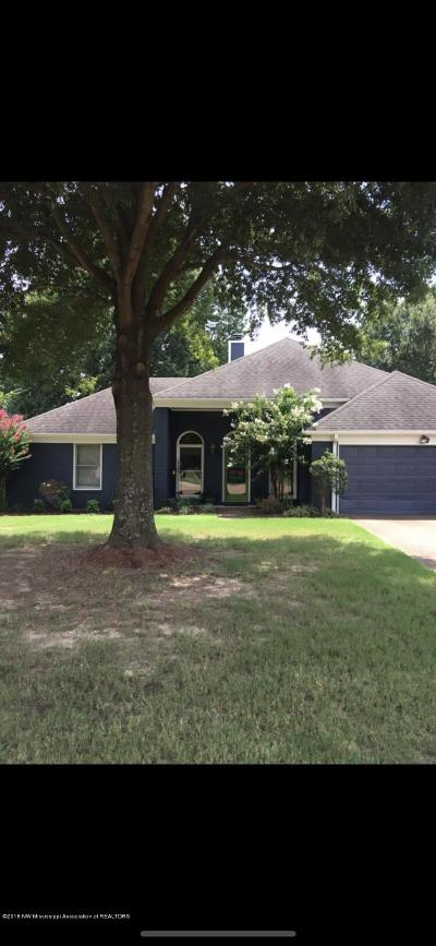 Olive Branch Single Family Home For Sale: 7279 Marla Cove