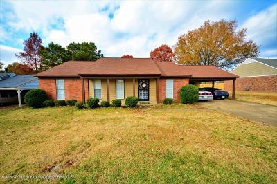 Horn Lake Single Family Home For Sale: 3540 Dorchester Drive