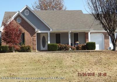 Tate County Single Family Home For Sale: 104 Keestone Drive