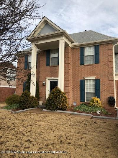 Desoto County Single Family Home Active/Contingent: 7204 Hunters Forest Drive