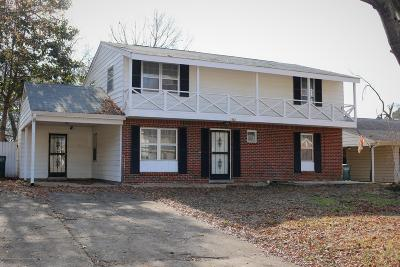 Southaven MS Single Family Home For Sale: $120,000
