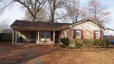 Southaven Single Family Home For Sale: 8313 Dottley Dr Drive