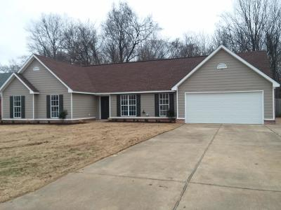 Horn Lake MS Single Family Home For Sale: $139,900