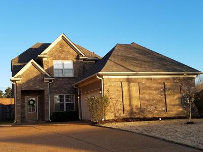 Southaven MS Single Family Home For Sale: $217,900