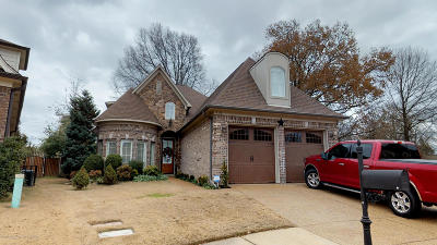 Olive Branch Single Family Home For Sale: 9192 Belle Maison Boulevard