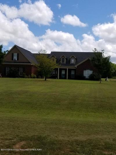 Lake Cormorant MS Single Family Home For Sale: $225,000