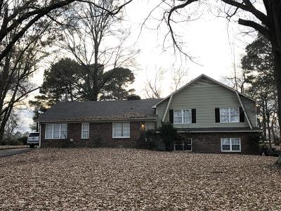 Tate County Single Family Home For Sale: 696 Country Club Drive