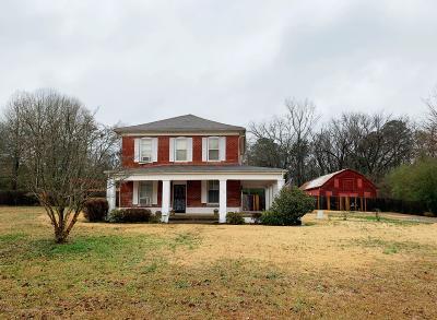 Byhalia Single Family Home For Sale: 190 Highway 309