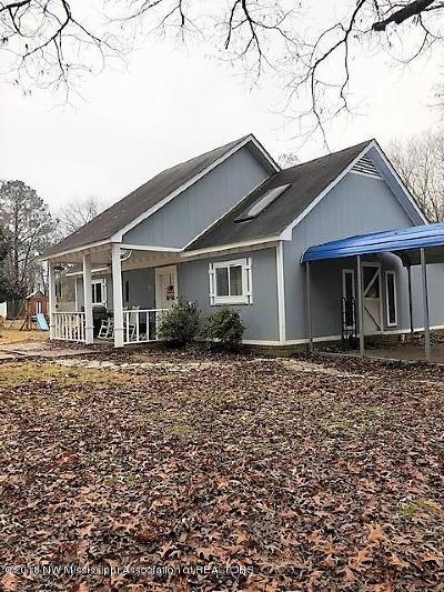 Tate County Single Family Home For Sale: 4909 Sycamore Road
