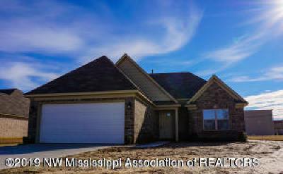 Horn Lake Single Family Home For Sale: 3900 Union Avenue