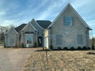 Desoto County Single Family Home For Sale: 3725 Woodcutter Drive