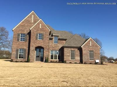 Desoto County Single Family Home For Sale: 5906 Shiloh Lane