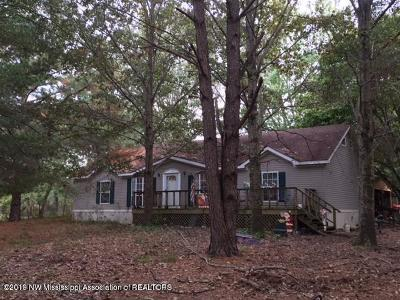 Tate County Single Family Home For Sale: 5432 Bend Road