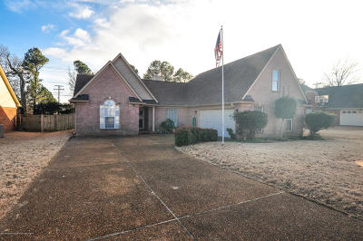 Olive Branch Single Family Home For Sale: 9133 Plantation Lakes Drive