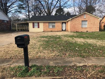 Desoto County Single Family Home For Sale: 5743 Cherokee Drive