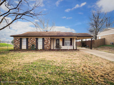 Southaven Single Family Home For Sale: 1809 Dorchester Drive
