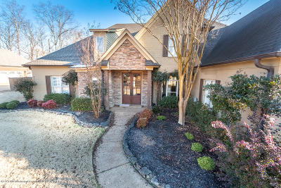 Desoto County Single Family Home Active/Contingent: 4182 Weladay Drive