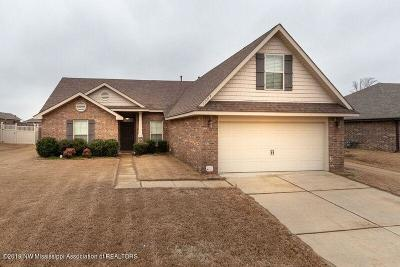 Southaven MS Single Family Home For Sale: $182,000