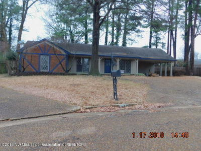 Southaven Single Family Home For Sale: 8311 Fairfax Cove