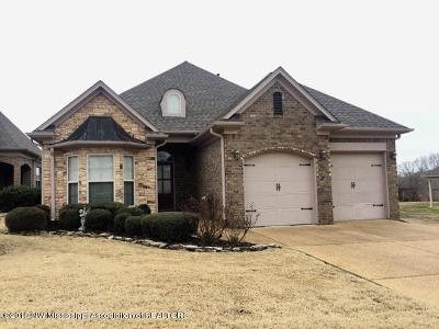Tate County Single Family Home For Sale: 103 Claire Cove