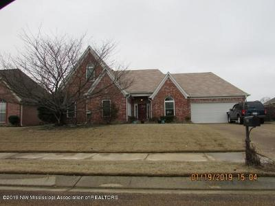 Olive Branch MS Single Family Home For Sale: $184,900