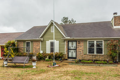 Olive Branch MS Single Family Home For Sale: $134,900