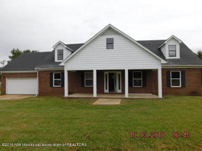 Holly Springs Single Family Home For Sale: 3690 Highway 72