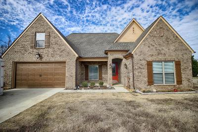 Tate County Single Family Home For Sale: 517 Golden Pond Drive