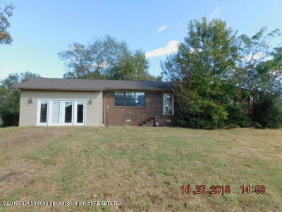 Marshall County Single Family Home For Sale: 2649 Ms-309