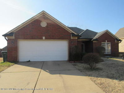 Southaven MS Single Family Home For Sale: $109,900