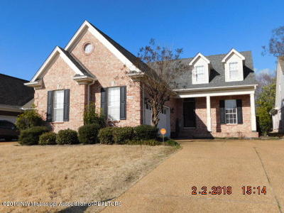 Southaven Single Family Home For Sale: 2750 Graystone Drive