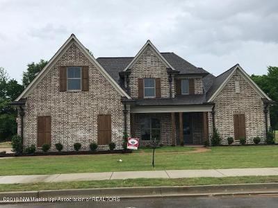 Olive Branch Single Family Home For Sale: 6846 Hawks View