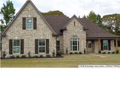 Olive Branch Single Family Home For Sale: 4609 Riva Ridge Drive