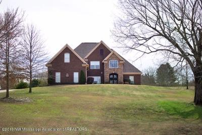 Tate County Single Family Home For Sale: 108 Justin Cove