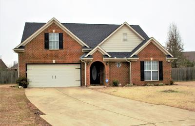 Olive Branch Single Family Home For Sale: 6321 White Hawk Cove