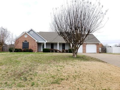 Tate County Single Family Home For Sale: 104 Keestone Drive