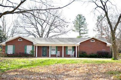 Olive Branch MS Single Family Home For Sale: $259,000