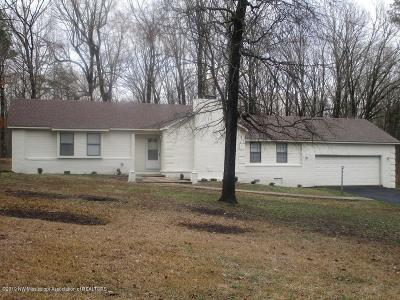 Tate County Single Family Home For Sale: 253 Willow Drive