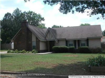 Desoto County Single Family Home For Sale: 7671 Brookwood Place