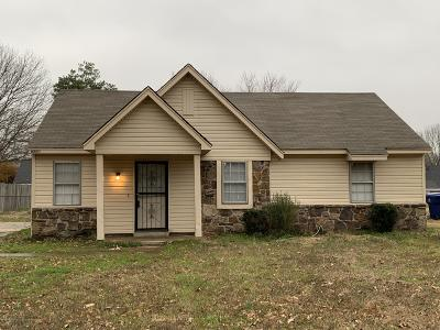 Horn Lake Single Family Home For Sale: 6550 Riverdale Road
