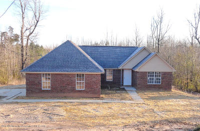 Holly Springs Single Family Home For Sale: 2182 W Hwy 178