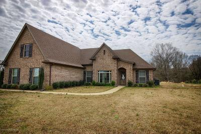 Tate County Single Family Home For Sale: 112 Luke Lane