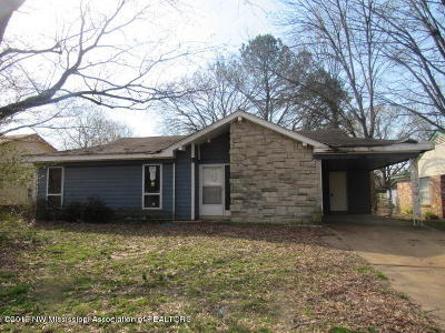 Southaven Single Family Home For Sale: 2381 Colonial Hills Drive