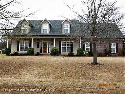 Desoto County Single Family Home For Sale: 6912 Tanner's Way Cove
