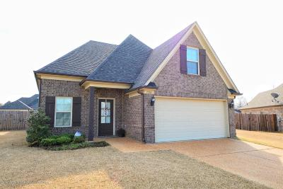 Southaven MS Single Family Home For Sale: $204,300