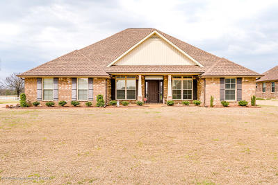 Olive Branch MS Single Family Home For Sale: $229,900