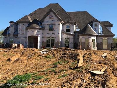 Desoto County Single Family Home For Sale: 7845 Holly Springs Road